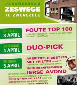 Paasweekend@Zeswege